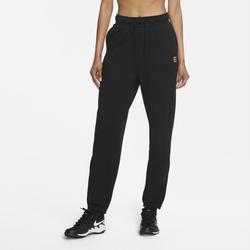 NikeCourt Damen-Tennishose - Schwarz, size: S