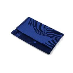 Aymando Geschirrtuch Navy Blue, (Spar Set, 2-tlg., 50x70cm), Poliertuch Trockentuch 2 Stück 50x70cm reine Bio Baumwolle im Design Zebra blau