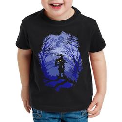 style3 Print-Shirt Kinder T-Shirt Skull Kid majoras mask n64 maske 164