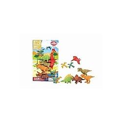 Puzzle Eraser Blister, Dinosaurs FIX6
