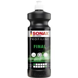 SONAX Politur PROFILINE Final, Milde Hochglanzpolitur mit Schnellversiegelun, 1000 ml - Flasche
