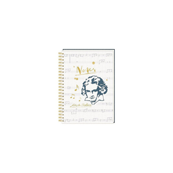 Coppenrath Notizbuch Ringbuch DIN A4 - Notes - All about music -
