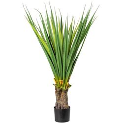 Künstliche Zimmerpflanze Aloe Sukkulente, Creativ green, Höhe 130 cm