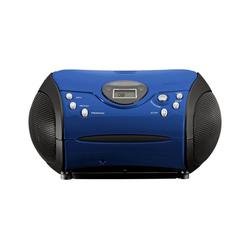 Lenco Lenco SCD-24 pink CD-Player blau