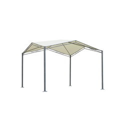 Outsunny Pergola Pavillon mit Sonnenschutz
