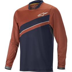 Alpinestars Alps 8.0 LS sykkel Jersey, rød-blå, XL
