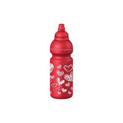 Fizzii Trinkflasche Trinkflasche Online, 600 ml rot