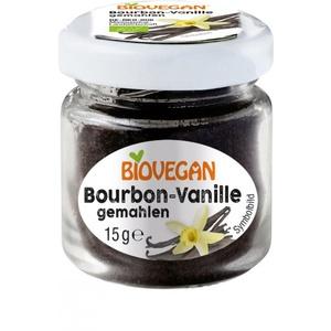 Biovegan Bourbon Vanille im Glas  gemahlen bio