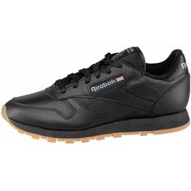 Reebok Classic Leather black/ black-gum, 45.5