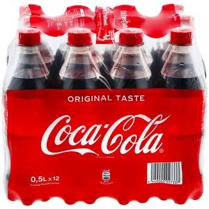Coca-Cola 0,5 Liter, 12er Pack