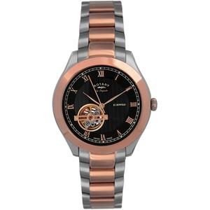 Rotary Herren Uhr Automatik Mit Edelstahl GB90517/01