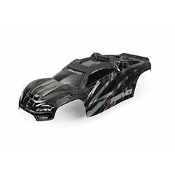 Traxxas TRX8611R Karosserie E-Revo schwarz + Aufkleber