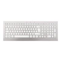 Cherry STRAIT 3.0 Tastatur USB Nordischer Raum Schwarz