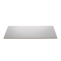 ebuy24 Esstisch Bone Esstisch Zusatzplatte 1 Stk. 45x90 cm, grau H