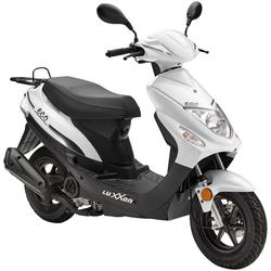 Luxxon Motorroller Eco, 49 ccm, 45 km/h, Euro 4 weiß