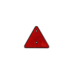 2 Stück Dreieckrückstrahler Rückstrahler Dreieck Dreiecksrückstrahler ROT E4