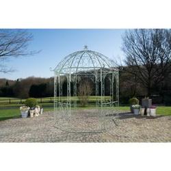 CLP Rosenpavillon Leila I Rankpavillion Aus Pulverbeschichtetem Eisen I Gartendekoration Im Jugendsstil