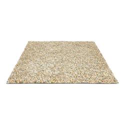 Schurwollteppich Dots (Bunt/Creme; 140 x 200 cm)