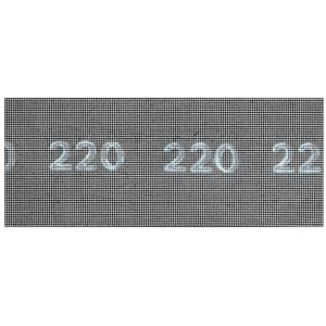 Bosch DIY Schleifgitter (für Gipskartonplatten, 5 Stück, 115 x 280 mm, Körnung 220)