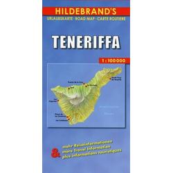 Hildebrand's Urlaubskarte Teneriffa. Tenerife. Teneriffe