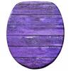 WC-Sitz mit Absenkautomatik Purple Wall