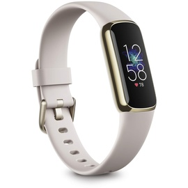 Fitbit Luxe gold/weiß