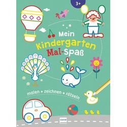 Mein Kindergarten Mal-Spaß als Buch von