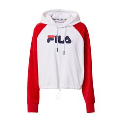 FILA Damen Sweatshirt 'BESSIE' weiß / rot / dunkelblau, Größe L, 5161203