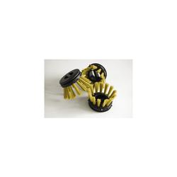 Miltex Rundbürsten für Schmutzfangmatten gelb 10 Stück