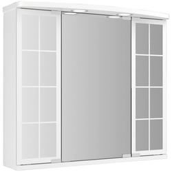 JOKEY Spiegelschrank Landhaus Binz, weiss, 67,5 cm Breite weiß