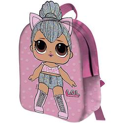 Kinderrucksack 2D L.O.L. KITTY QUEEN rosa