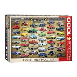 empireposter Puzzle Amerikanische Pickup Trucks - 1000 Teile Puzzle im Format 68x48 cm, 1000 Puzzleteile