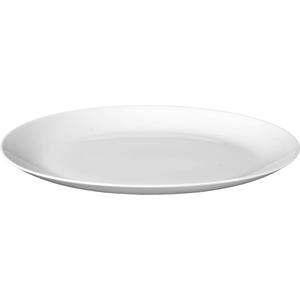 Seltmann Weiden Servierplatte Rondo Liane in weiß, 31 cm