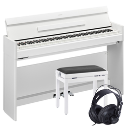 Yamaha Arius YDP-S54 Digitalpiano Weiß Set