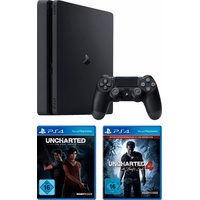 Sony PS4 Slim 1TB + Uncharted: The Lost Legacy + Uncharted 4: A Thief's End - Plus Edition ab 439.99 € im Preisvergleich