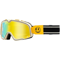 100% Barstow See See Motocross Brille, schwarz-weiss