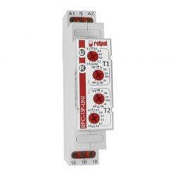 Zeitrelais 1P 12-240V Multifunktionsrelais Relais Time Relay RPC-1IP-UNI Relpol 0455