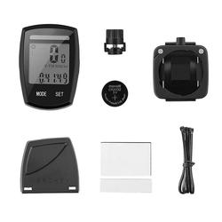 kueatily Stoppuhr Fahrradcomputer Drahtloser Fahrrad-Tachometer mit Solarenergie Wasserdicht Funktionen Drahtloser Fahrrad-Computer Kilometerzähler LCD-Geschwindigkeits-Fahrrad-Tachometer Drahtloser Fahrrad-Computer-Tachometer