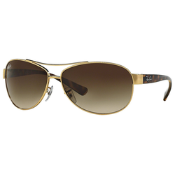 RAY BAN Sonnenbrille RB3386 goldfarben L