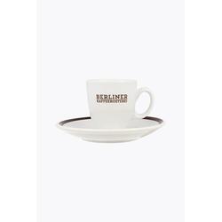 Berliner Kaffeerösterei Espressotasse mit Untertasse
