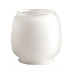 Campingaz Lampenfassung Ersatzglas Rund Größe M - Lampen-Ersatzglas - weiß