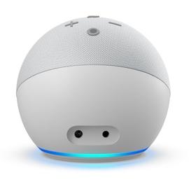 Amazon Echo Dot 4. Generation mit Uhr weiß