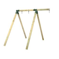 Wickey Einzelschaukel Schaukelgestell Moonwalker - Schaukel, Schaukelgerüst, Kinderschaukel, Holzschaukel