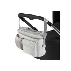 ONVAYA Kinderwagen-Tasche Kinderwagen Organizer, grau oder schwarz, Kinderwagentasche grau
