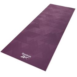 Reebok Yogamatte Reebok Yogamatte mit geometrischem Muster - beidseitig, rutschfest