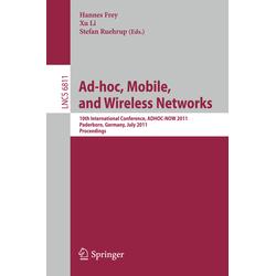 AD-HOC Mobile and Wireless Networks als Buch von