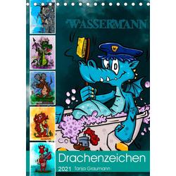 Drachenhoroskop 2021 (Tischkalender 2021 DIN A5 hoch)