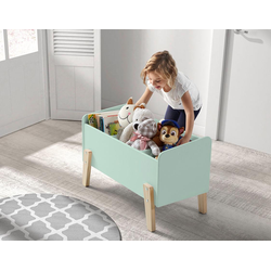 Vipack Spielzeugtruhe Kiddy, MDF-Oberfläche grün Truhen Kleinmöbel