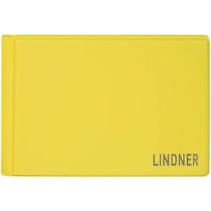 Lindner Das Original, Taschen-Münzalbum Color für 48 Münzen, 150 x 100 x 18 mm - in 10 Farben zur Auswahl (SOLINO (gelb) 2070-9)