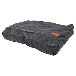D&D Hundebett/Schlafsack Snuggle Toby grau, Maße: 100 x 70 x 15 cm